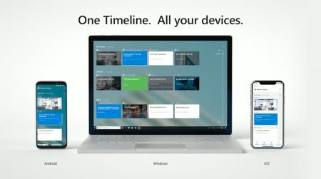 Не прошло и года. Microsoft выпустила расширение для Chrome, добавляющее браузеру Google поддержку функции Windows Timeline