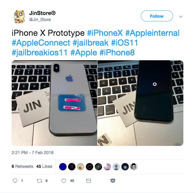 Хакеры используют прототипы iPhone для разработчиков (украденные с заводов Foxconn) для взлома потребительских iPhone. Их они покупают на черном рынке по несколько тысяч долларов