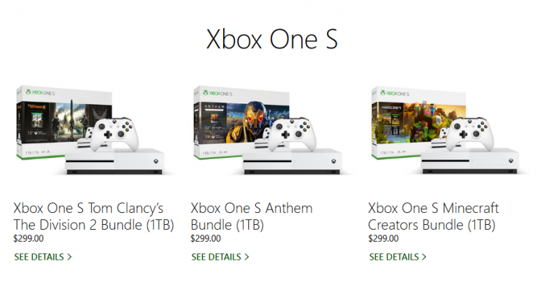 Слухи: Microsoft назовет дешевую версию консоли без привода оптических дисков Xbox One S All-Digital Edition. Анонс состоится в апреле, а ценник может быть на $100 дешевле стандартной Xbox One S