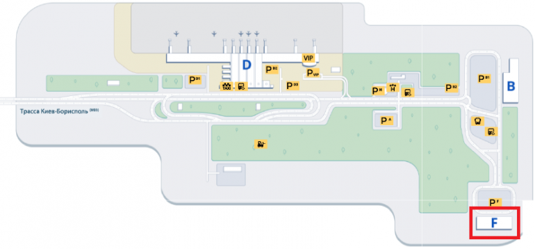 Специально для лоукостеров. 31 марта в Борисполе заново откроется терминал F, в него переберутся Ryanair, Laudamotion, SkyUp и многие другие