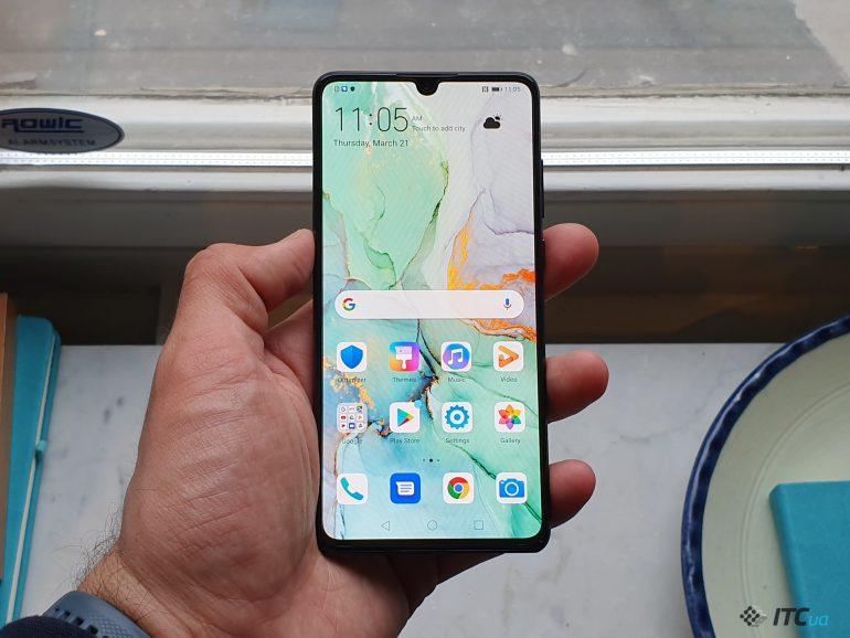 Huawei представила встолице франции  свой лучший смартфон P30 Pro