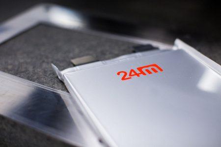 Американский стартап 24M начал поставки аккумуляторных батарей с плотностью 280 Вт·ч/кг и собирается довести этот показатель до отметки 350-400 Вт·ч/кг