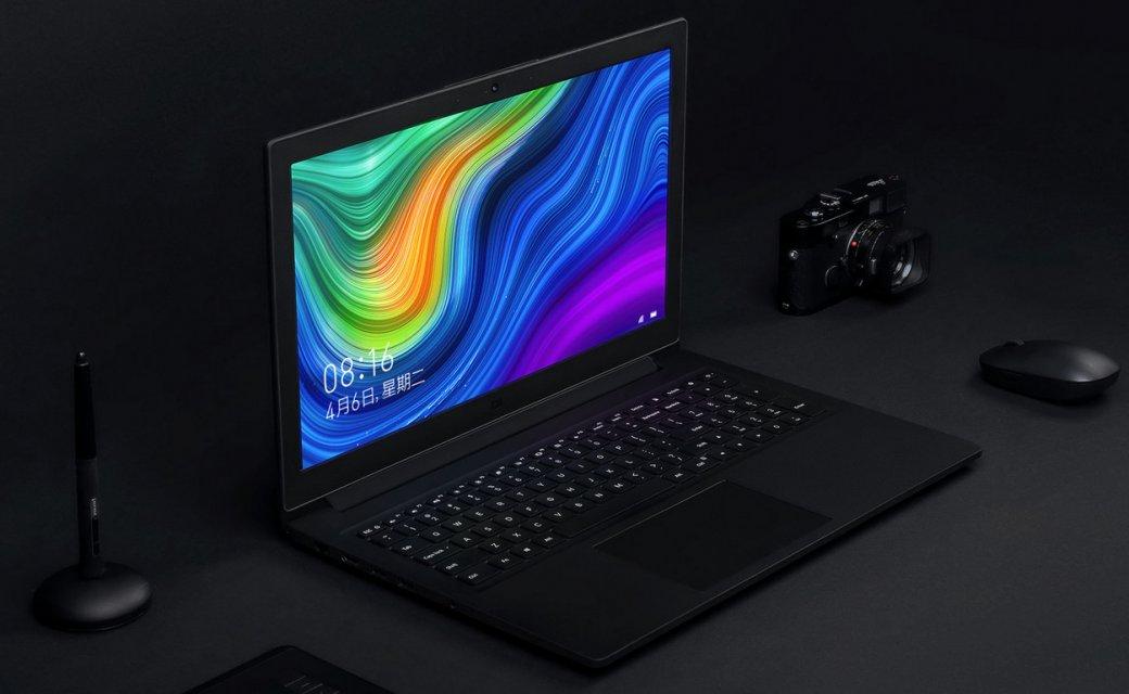 Xiaomi представила улучшенный ноутбук MiNotebook 15.6