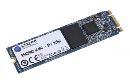 В Украине стартуют продажи SSD начального уровня Kingston A400 М.2 2280 по цене 679 грн (120 ГБ) и 1049 грн (240 ГБ)