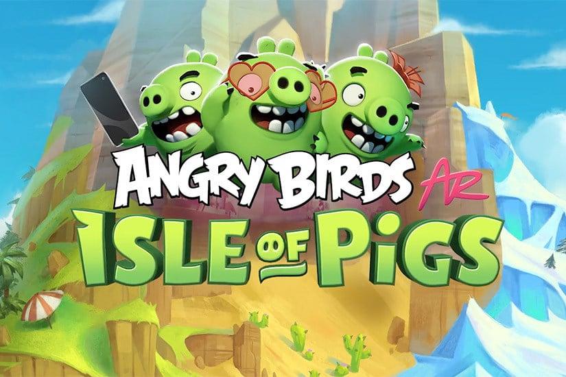 Мобильная игра для дополненной реальности Angry Birds AR: Isle of Pigs выйдет в апреле на платформе iOS [видео]