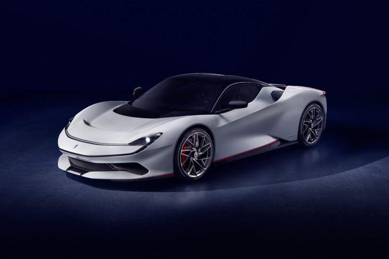Ёлектрогиперкар Pininfarina Battista получил четыре двигател¤ мощностью 1900 л.с., разгон до Ђсотниї менее 2 секунд, батарею на 120 к¬тч и ценник в $2,5 млн [∆енева 2019]