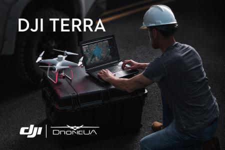 DJI Terra — новая программа для картирования с помощью дронов от DJI