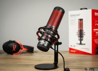 Обзор микрофона HyperX QuadCast: если гарнитуры мало