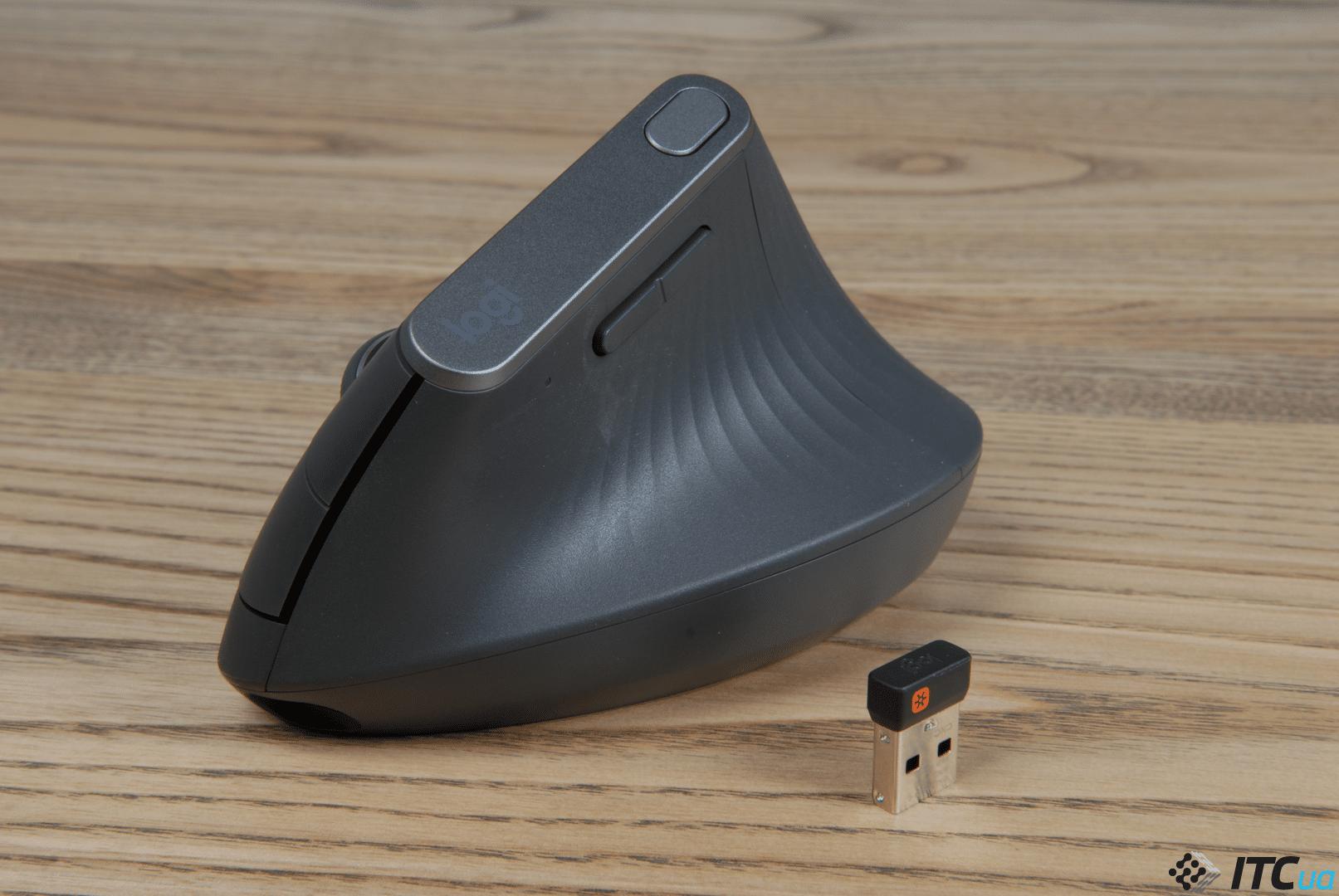 Обзор вертикальной мыши Logitech MX Vertical