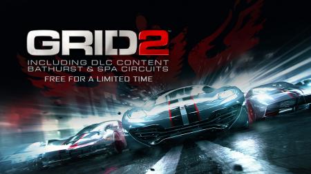 Humble Bundle бесплатно раздает игру GRID 2 и два DLC к нему в виде Steam-ключей, акция продлится до 17 марта