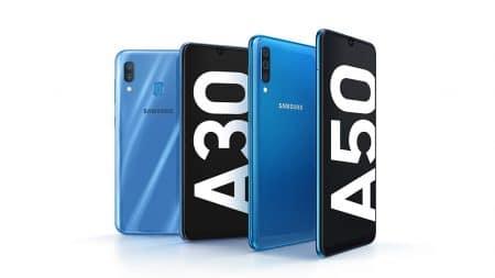 Объявлены украинские цены на смартфоны Samsung Galaxy A30 и Galaxy A50 — от 6 499 и 8 499 грн соответственно