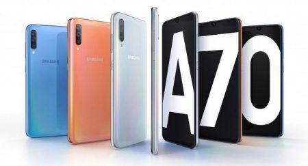 Смартфон Samsung Galaxy A70 представлен официально: SoC Snapdragon 670, экран 6,7 дюйма с соотношением 20:9, тройная камера, аккумулятор емкостью 4500 мА·ч и 25-ваттная зарядка