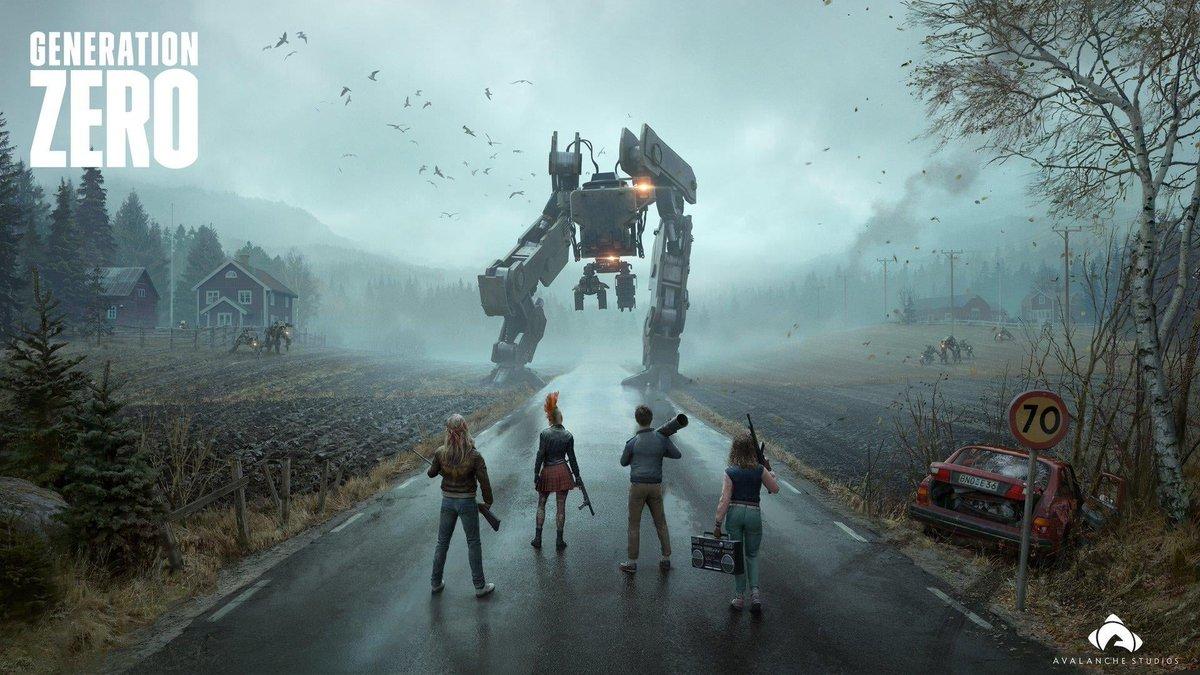 Вышел релизный трейлер онлайн-шутера Generation Zero, продажи игры стартуют 26 марта на платформах PC, PS4 и Xbox One