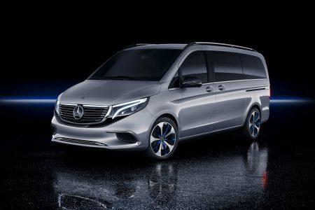 Mercedes-Benz представил электрический пассажирский минивэн Concept EQV с батареей на 100 кВтч и запасом хода 400 км, серийную версию анонсируют уже в сентябре [Женева 2019]