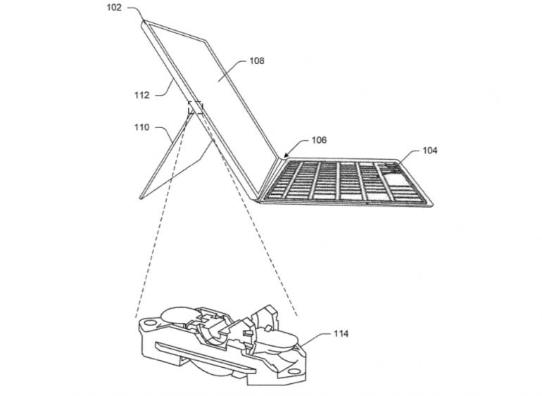 Патентная заявка Microsoft намекает на грядущие улучшения в планшете Surface Pro 7