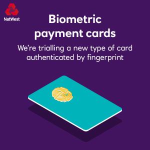 В Великобритании начинают тестировать биометрические платежные карты со встроенным сканером отпечатков пальцев