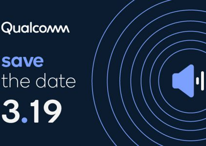 Qualcomm has scheduled an event on March 19th, and most likely new audio solutions will be released