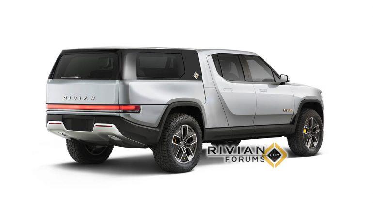 Создатели электрического пикапа Rivian R1T запатентовали «модульный кузов», который позволяет трансформировать его под любую модель использования