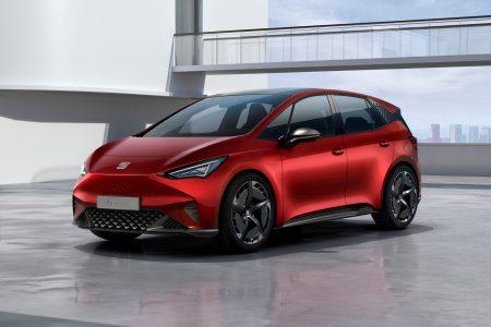 Seat el-Born Ч концепт электрокроссовера на платформе VW MEB с мощностью 150 к¬т, батареей на 62 к¬тч и запасом хода 420 км (WLTP)