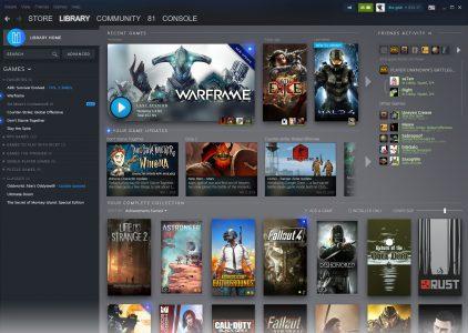 Фотогалерея дня: Valve показала как будет выглядеть обновленный интерфейс Steam
