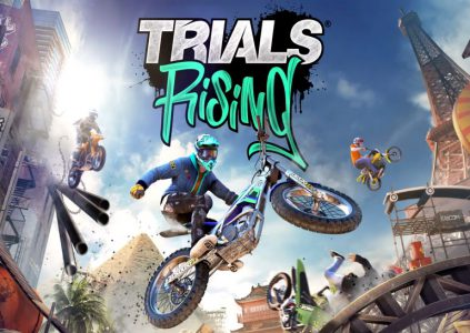 Trials Rising: Dark Soul на мотоциклах