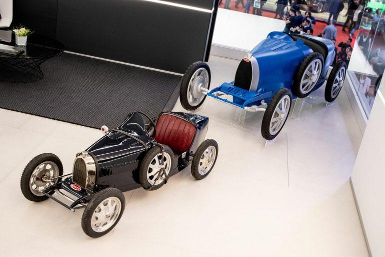 Bugatti представил электромобиль Baby II для больших детей (или для маленьких взрослых) стоимостью 30 тыс. евро