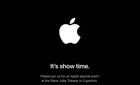 Apple officially announced the presentation on March 25