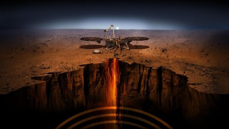 Бур миссии InSight столкнулся с камнем