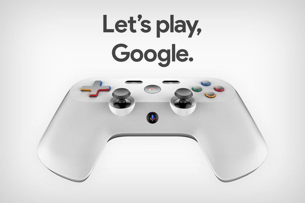 Блоги / Как может выглядеть геймпад для игровой платформы Google