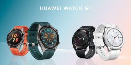 Huawei представила две новые модели умных часов Huawei Watch GT — спортивную Active и модную Elegant