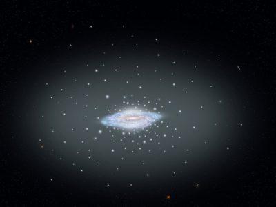 Телескопы Hubble и Gaia помогли астрономам точно взвесить Млечный путь