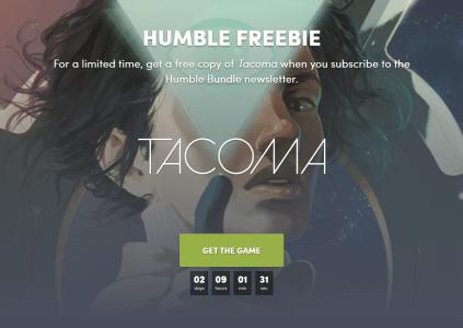 В Humble Bundle бесплатно раздают приключенческую игру Tacoma, а в Epic Games Store – мистический триллер Oxenfree