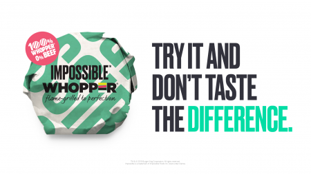 Impossible Foods заключила партнерство с Burger King