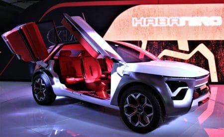 Kia HabaNiro — концепт электрокроссовера следующего поколения с дверьми-крыльями, запасом хода 500 км и пятым уровнем автономности
