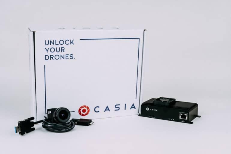 Casia - инновационная система автоматического уклонения от столкновения в воздухе, разработанная для БПЛА