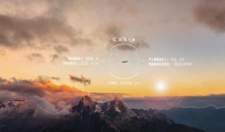 Casia — инновационная система автоматического уклонения от столкновения в воздухе, разработанная для БПЛА