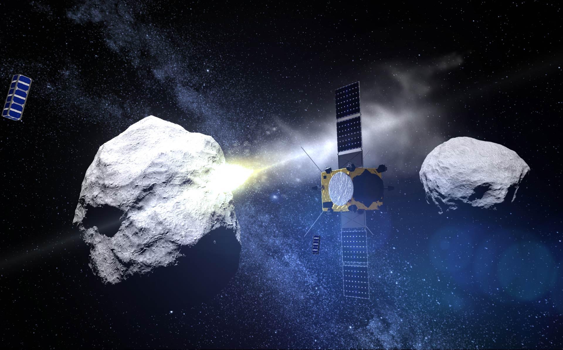 SpaceX примет участие впроекте DART, врамках которого NASA протаранит астероид