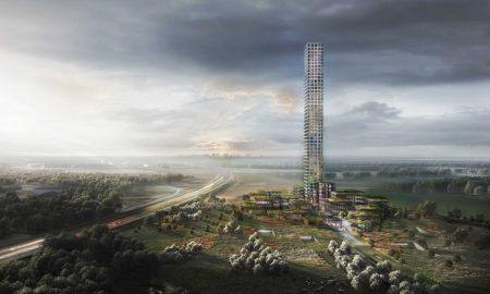 Самый высокий небоскреб в Западной Европе построят в маленьком датском городке