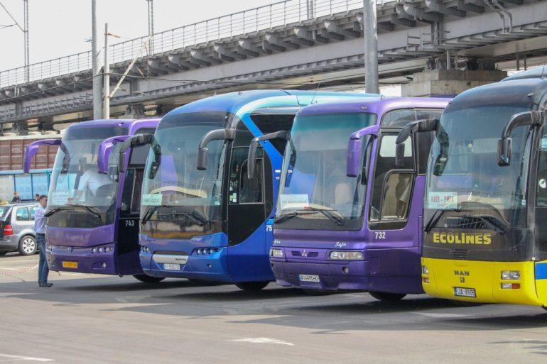 Мининфраструктуры Украины запустило интерактивную карту с 4000 межобластных и международных автобусных маршрутов