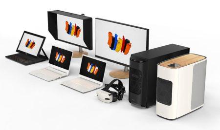 У Acer появилась новая линейка устройств ConceptD для людей творческих профессий: компьютеры, ноутбуки, мониторы и гарнитуры виртуальной реальности
