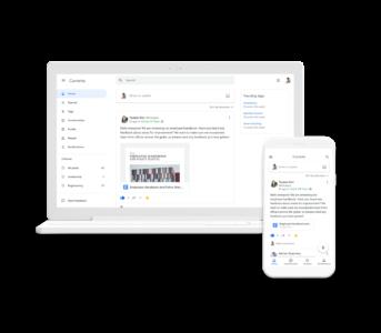 Google запустила Currents в рамках пакета G Suite — соцсеть для компаний (вместо Google+)