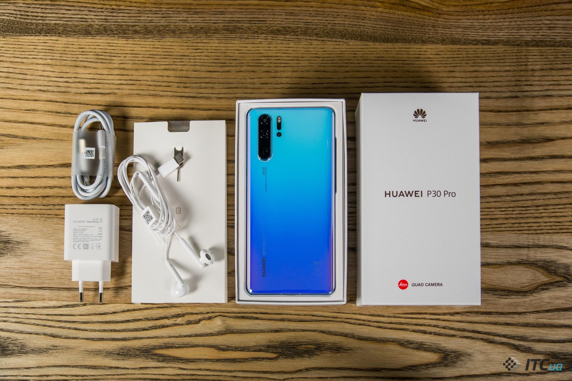 комплектация Huawei P30 Pro
