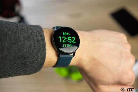 Обзор смарт-часов Samsung Galaxy Watch Active