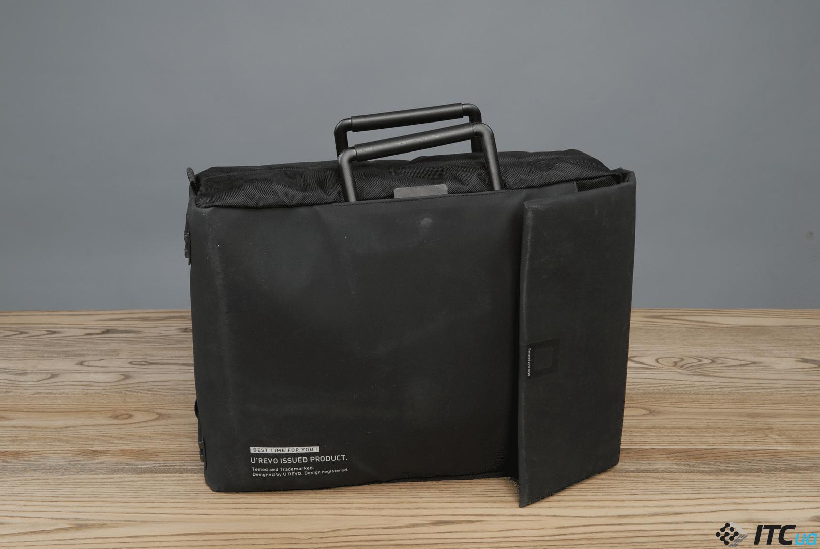 Обзор сумки-рюкзака Xiaomi U'revo City Business Multifunction Bag