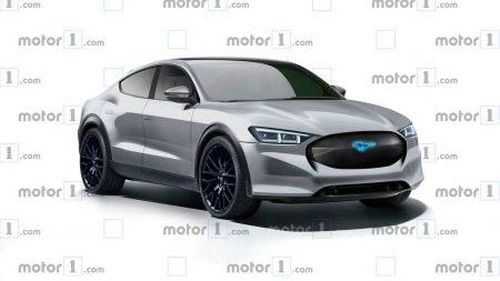 Ford запатентовал имя «Mustang Mach-E» и новый логотип с галопирующим жеребцом для будущего электрокроссовера или гибридного Mustang (плюс свежий рендер новинки)