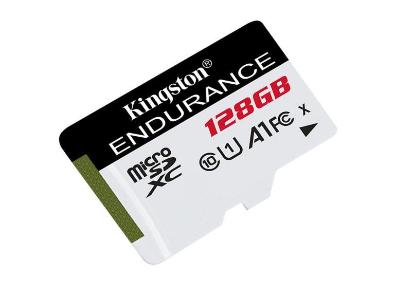 Kingston High Endurance — новая линейка карт памяти microSD «высокой выносливости» для камер наблюдения и видеорегистраторов