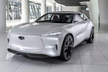 В Шанхае представили концепт электромобиля Infiniti Qs Inspiration, серийную модель на его основе будут собирать в Китае для Китая
