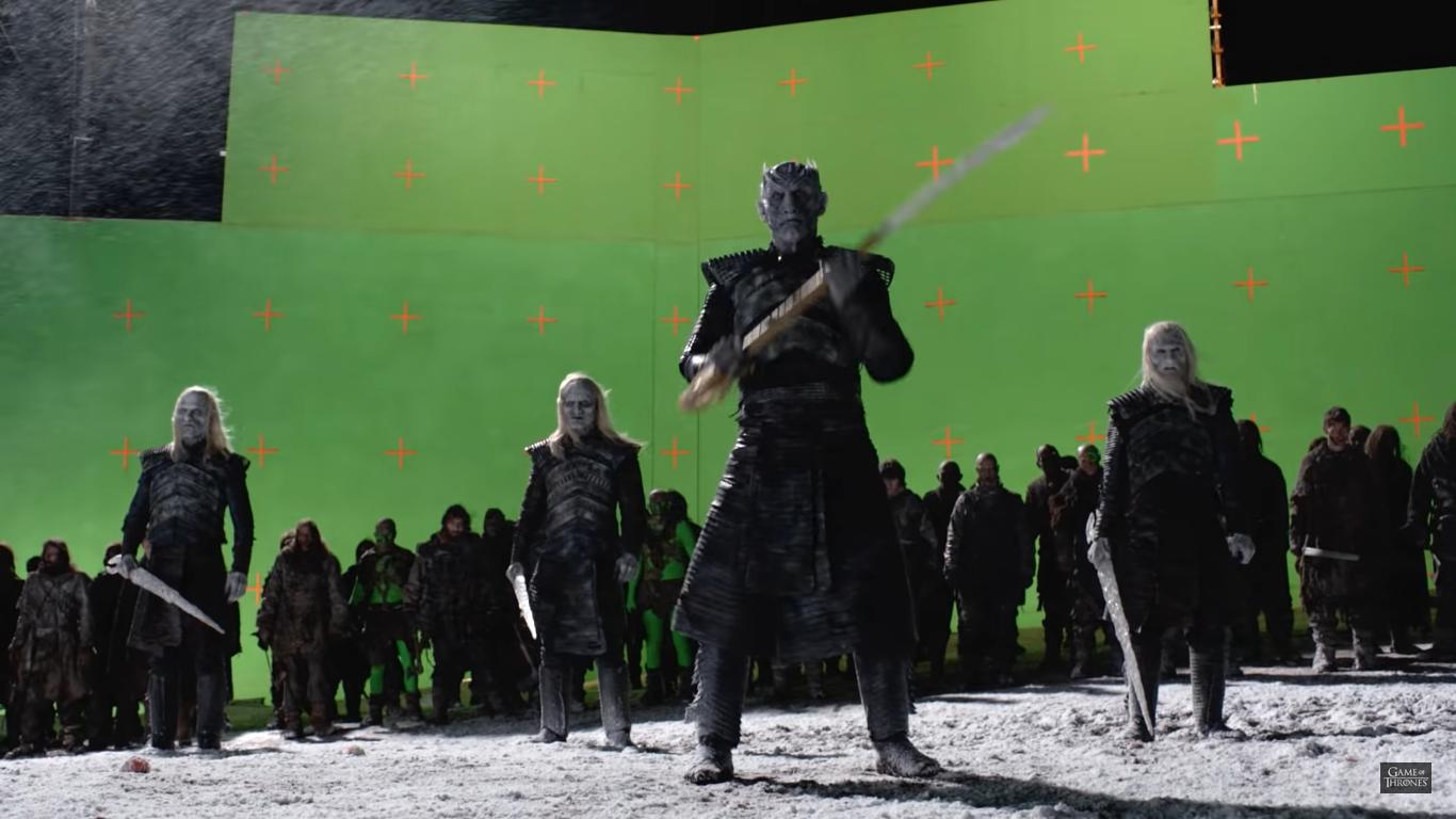HBO показал, как создавались спецэффекты для финального сезона сериала Game of Thrones / «Игра престолов» и опубликовала три свежих тизера [видео]