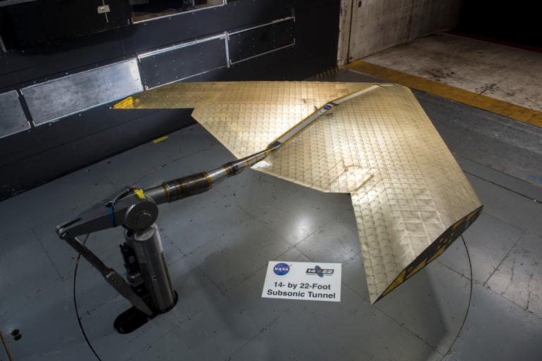 NASA и MIT создали новый тип крыла самолёта, которое способно менять свою форму в полёте