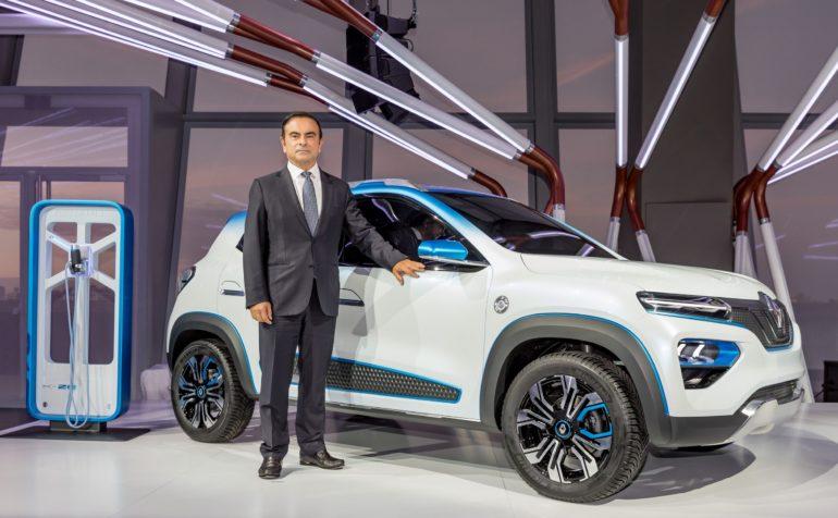 Официально: Анонс серийного электромобиля Renault City K-ZE состоится через неделю на Шанхайском автосалоне, новинка должна получить запас хода 250 км и ценник $8000